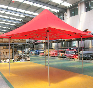 Roof With 4 Awnings