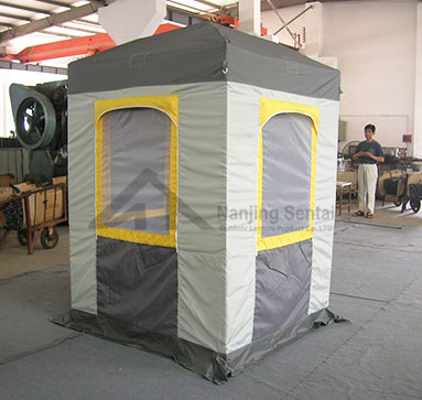 What About A Folding Up Gazebos Stained With Dust?