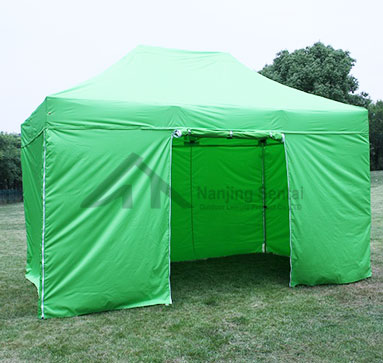 How Are Advertising Tents Generally Built?