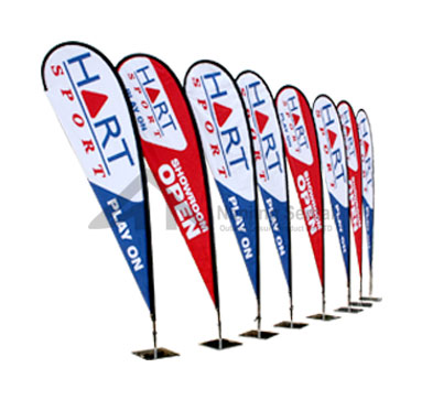 Customize Tear Drop Flag Banner